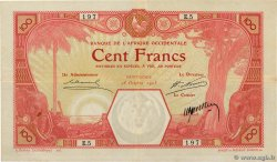 100 Francs SAINT LOUIS FRENCH WEST AFRICA Saint Louis 1905 P.10F BB