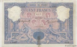 100 Francs BLEU ET ROSE  FRANCE  1901 F.21.15 TB+