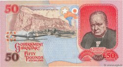 50 Pounds Sterling  GIBRALTAR  1995 P.28a NEUF