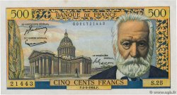 500 Francs VICTOR HUGO FRANCE  1954 F.35.02 pr.SPL