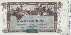 5000 Francs FLAMENG FRANCE  1918 F.43.01 SUP