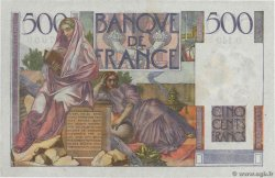 500 Francs CHATEAUBRIAND  FRANCE  1953 F.34.12 XF+