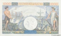 1000 Francs COMMERCE ET INDUSTRIE  FRANCE  1940 F.39.01 SPL