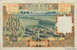 5000 Francs   AFARS AND ISSAS  1969 P.30 F