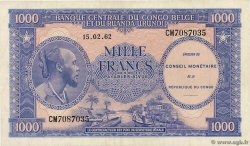 1000 Francs  CONGO REPUBLIC  1962 P.002a VF+