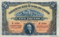 5 Pounds  SCOTLAND  1926 PS.328a F
