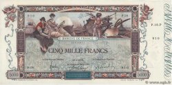 5000 Francs FLAMENG FRANCE  1918 F.43.01 pr.SPL