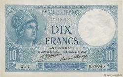 10 Francs MINERVE FRANCE  1926 F.06.11 SUP