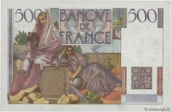 500 Francs CHATEAUBRIAND FRANCE  1947 F.34.07 SUP