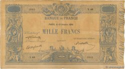 1000 Francs BLEU ET ROSE FRANCE  1890 F.36.02 F+