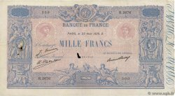 1000 Francs BLEU ET ROSE FRANCE  1926 F.36.43 VF-