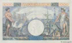 1000 Francs COMMERCE ET INDUSTRIE FRANCE  1944 F.39.10 XF