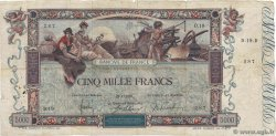5000 Francs FLAMENG FRANCE  1918 F.43.01 VG