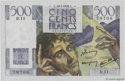 500 Francs CHATEAUBRIAND  FRANCE  1945 F.34.01
