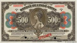 500 Roubles Spécimen RUSSIA (Indochina Bank) Vladivostok 1919 PS.1259s AU