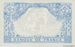 5 Francs BLEU FRANCE  1915 F.02.23 XF+