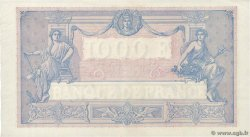 1000 Francs BLEU ET ROSE FRANCE  1926 F.36.42 AU-