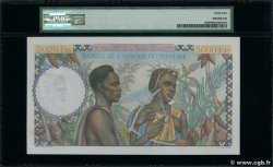5000 Francs FRENCH WEST AFRICA (1895-1958)  1950 P.43 UNC-