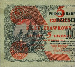 5 Groszy POLOGNE  1924 P.043a SUP