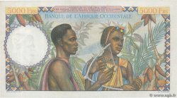 5000 Francs FRENCH WEST AFRICA (1895-1958)  1950 P.43 AU+