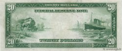 20 Dollars UNITED STATES OF AMERICA Chigao 1914 P.361b XF+