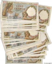100 Francs SULLY Lot FRANCE  1939 F.26.lot TTB