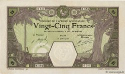 25 Francs DAKAR FRENCH WEST AFRICA (1895-1958) Dakar 1926 P.07Bc XF-