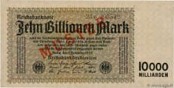 10 Billions Mark Spécimen GERMANY  1923 P.131bs AU
