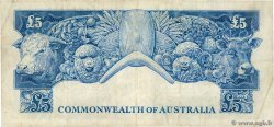 5 Pounds AUSTRALIA  1961 P.35a VF