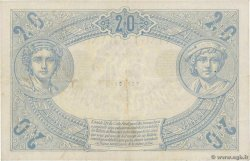 20 Francs NOIR FRANCE  1875 F.09.02 VF+