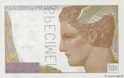 300 Francs Spécimen FRANCE  1938 F.29.00Sp AU