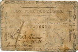 15 Sols FRANCE regionalism and miscellaneous Saint-Maixent 1792 Kc.79.063 G