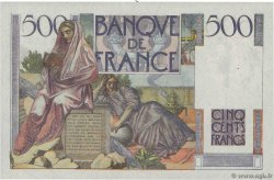 500 Francs CHATEAUBRIAND  FRANCE  1945 F.34.03 AU
