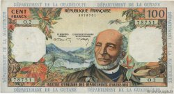 100 Francs  FRENCH WEST INDIES  1967 P.10b F+