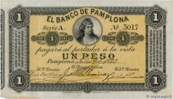 1 Peso  COLOMBIA  1883 PS.0711a XF