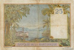 25 Francs  MARTINIQUE  1938 P.12 F