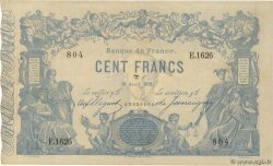 100 Francs type 1862 Indices Noirs FRANCE  1881 F.A39.17 VF