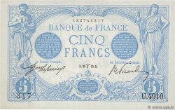 5 Francs BLEU FRANCE  1915 F.02.25 XF+