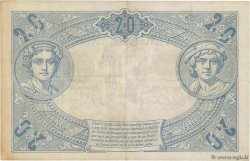 20 Francs NOIR FRANCE  1904 F.09.03 VF