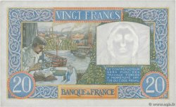 20 Francs TRAVAIL ET SCIENCE FRANCE  1941 F.12.18 SPL