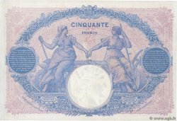 50 Francs BLEU ET ROSE FRANCE  1916 F.14.29 pr.SUP