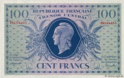 100 Francs MARIANNE  FRANCE  1943 VF.06.01g SPL