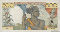 500 Francs FRENCH WEST AFRICA  1953 P.41 SPL