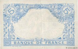 5 Francs BLEU FRANCE  1915 F.02.25 XF-