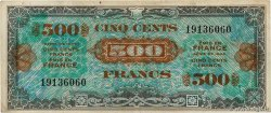 500 Francs DRAPEAU FRANCE  1944 VF.21.01 TB+