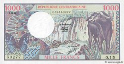 1000 Francs CENTRAL AFRICAN REPUBLIC  1981 P.10 UNC