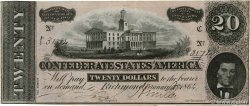 20 Dollars CONFEDERATE STATES OF AMERICA Richmond 1864 P.69 VF