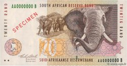 20 Rand Spécimen SOUTH AFRICA  1993 P.124as