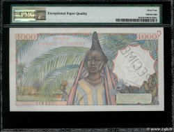 1000 Francs Spécimen FRENCH WEST AFRICA (1895-1958)  1945 P.42s UNC-