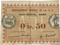 50 Centimes Spécimen FRENCH WEST AFRICA  1917 P.01